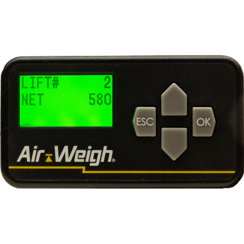 Air Weigh BinMaxx Arm Scale for Load Management