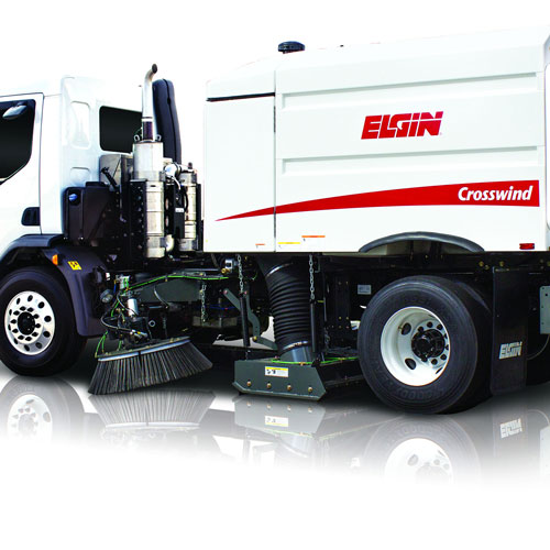 Elgin Crosswind Regenerative Air Street Sweeper