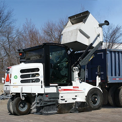 Elgin Waterless Pelican Street Sweeper