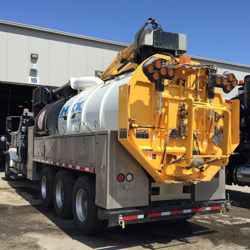 JJE Used Vactor HXX Hydro Excavator