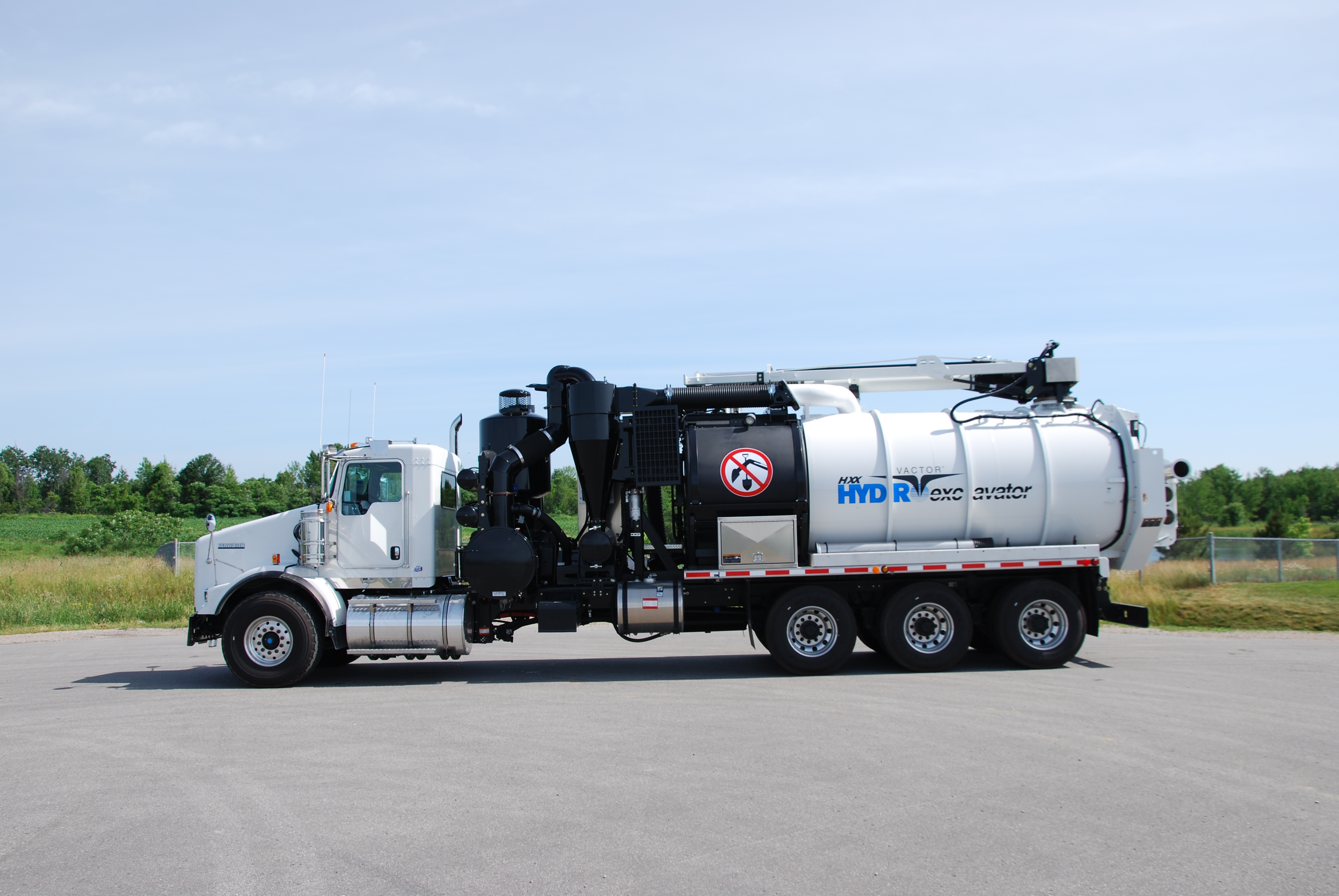 New Vactor Hxx Hydro Excavation Equipment For Sale Jje