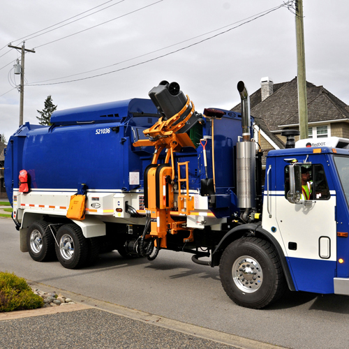 Labrie Automizer Right Hand Side Loader Garbage Truck