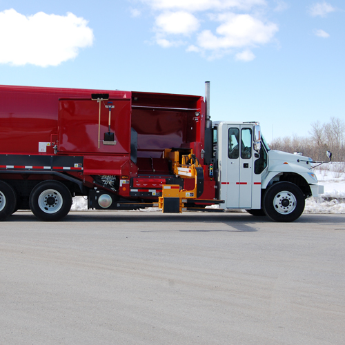 Labrie Expert 2000 Side Loader Garbage Truck