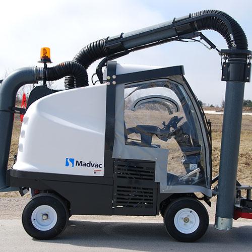 Madvac LN/LR50 Compact Street Sweeper