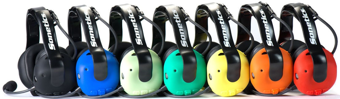 Sonetics Wireless Soundproof Headphones Color Options