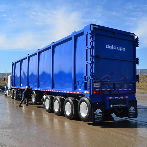 Deloupe Moving Floor Trailer