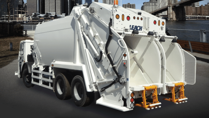 Leach Split Rear Loader