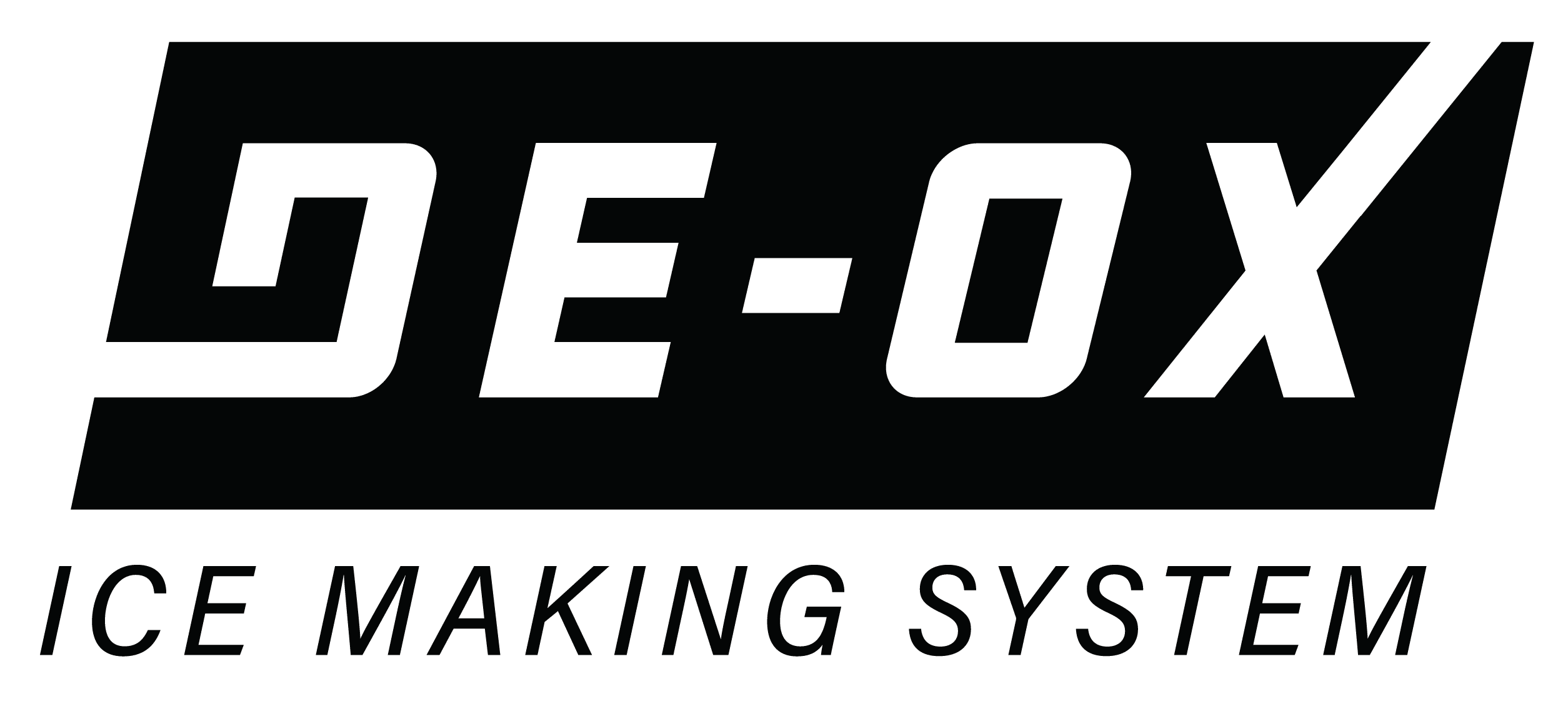 De-OX Ice Making System Logo
