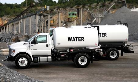 Curry Supply Water Truck