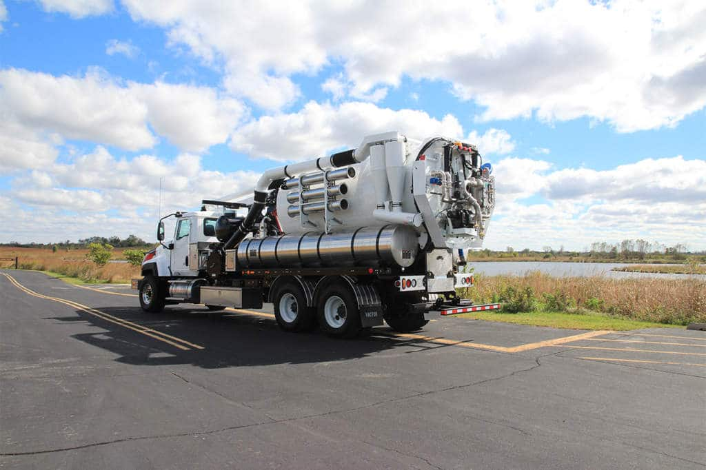 Vactor 2100i With Water Recycler