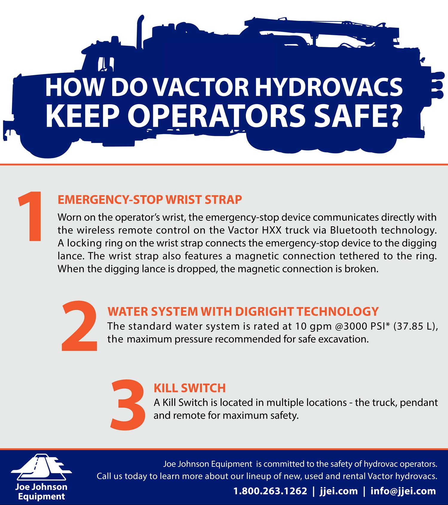 Joe Johnson Infographic - Vactor Hydrovac Safety