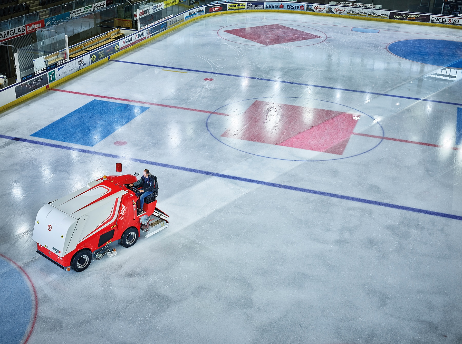 Engo zero-emission Ice Resurfacer