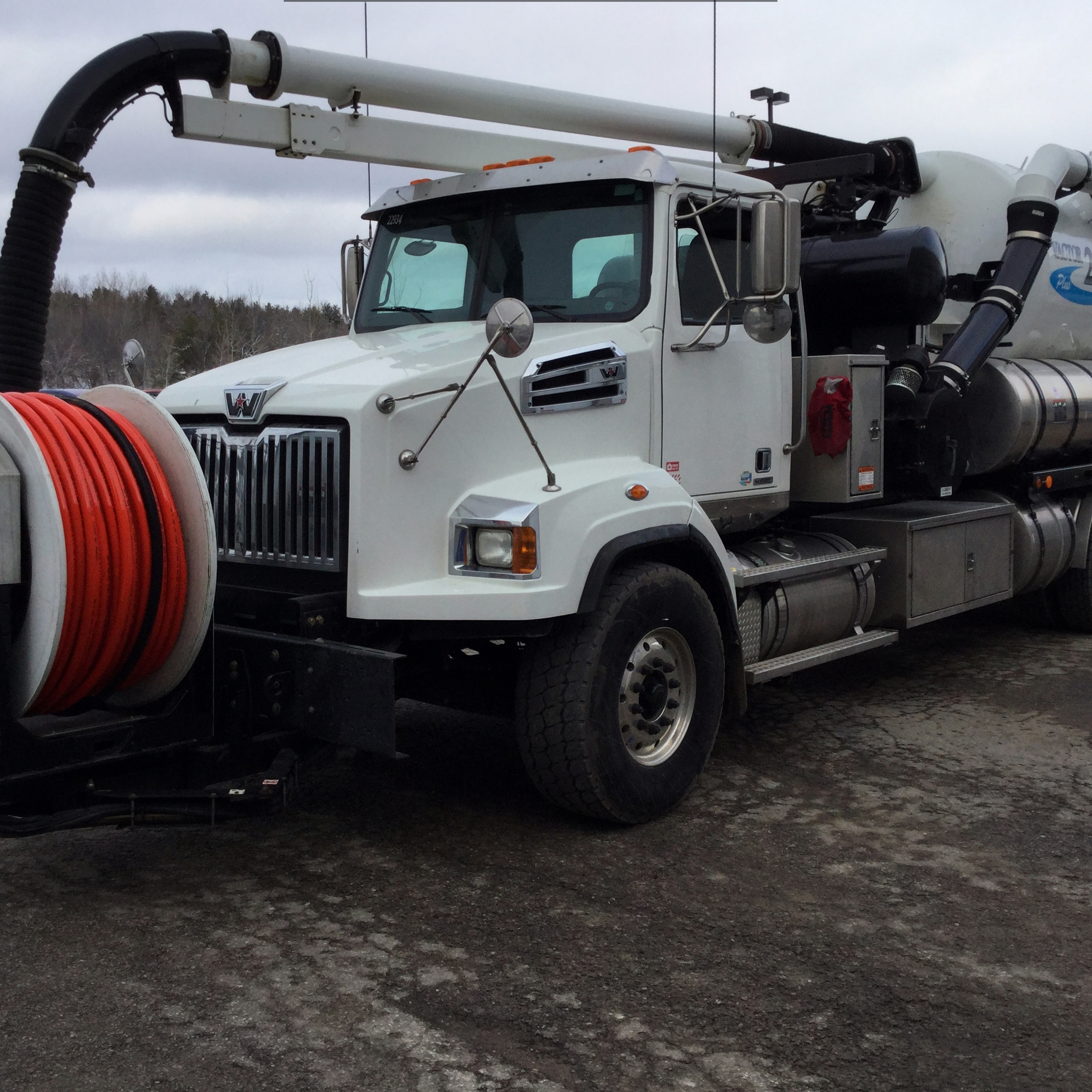 Vactor 2100 Sewer Cleaner